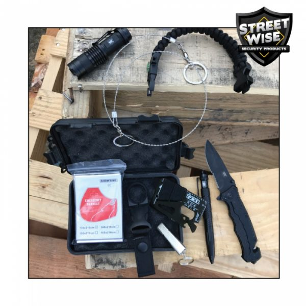 Best Streetwise Survival Kit: 9 Items w/25 Functions